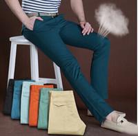 Wholesale New mens pants Linen trousers size cotton colors fashion men pants cheap mens pants cool pants for men