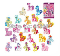 Wholesale Pony Figures cm quot My little pony Loose Action Figures toy Baby Doll Gifts