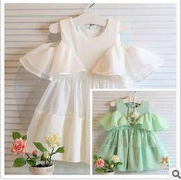 Wholesale 2014 New Arrival Fashion Style Dress Baby Girls Charming Summer Dress New Fashion Style Lovely Dress