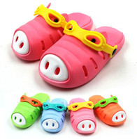Wholesale Summer Sandals for Toddlers Pro Environment PVC Non slip Sole Cute Sandals Kids Slipers