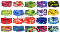 Wholesale New Hot Scarf Multi function Cycling Bike Bicycle Outdoor Sport Magic Scarf Neck Warmer Bandana Head Hats C1308