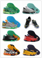 Wholesale Original Package Men s KD Basketball Shoes Brand Man Athletic Air Sneakers Trainers New Arrival Cheap BasketBal l Boots Fast Delivery