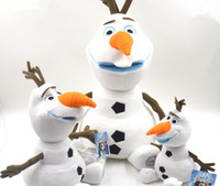 Wholesale Best Gift Cartoon Movie Frozen Olaf Plush Toys For Sale cm cm cm cm detachable Sizes and Prices Cotton Stuffed Dolls