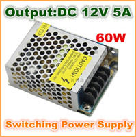 Wholesale NEW DC V A W Switch Power Supply Driver For LED Light Strip Display input85 V