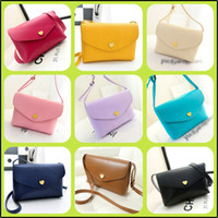 Shoulder Bags Women Plain 14 colors Preppy Style 2014 new women messenger bags lovely pu leather women leather handbags classic women handbag women wallet