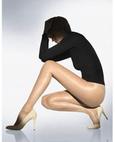 Women Bodysuit Tight Shiny Real Silk Tights Shiny Ultra-thin Sexy Pantyhose