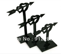 Wholesale Sets Black The Arrow Of Cupid Acrylic Earring Display Stand quot Fashion Jewelry Display