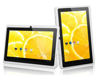 Wholesale 7 Inch Q88 Allwinner A23 dual core Android tablet pc single camera MB GB