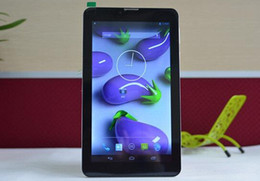 Wholesale 7 Inch G Phone call tablet pc android MTK6572 Dual Core Dual camera Dual SIM GPS WIFI Tablet PC With Bluetooth