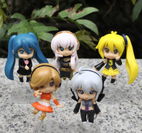 Wholesale New JP Anime Vocaloid HATSUNE MIKU Family Figures Rin Len