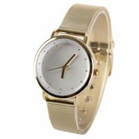 Dress Women's Water Resistant New arrival montre femme relogio feminino ladies hours fashion gold metal braided strap band wrist watches Women dress watches