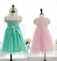 Cheap TuTu girl dress Best Summer A-Line chidren clothings