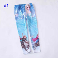 Big discount Children girls Frozen Elsa Anna leggings long p...