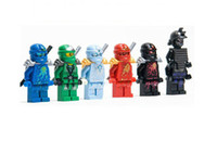 Wholesale Mini Figure Domestic high phantom ninja fourth generation blocks are assembled against wang hide something green ninja