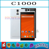 Quad Core MTK6582 1. 3GHZ C1000 Android 4. 2 smart phone 1G RA...