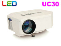 Wholesale UC30 LED mini pocket HDMI USB video game projector best cheap micro projector