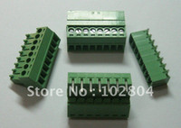 Wholesale 200 Screw Terminal Block Connector Pitch mm Angle pin way Green Color Pluggable Type