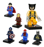 Super Heroes The Avengers Iron Man Batman Spuerman Wolverine...