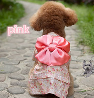 Wholesale Pets Japanese kimono Pet spring summer clothing Teddy Hiromi dog clothes color XS S M L XL