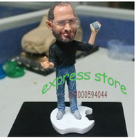Wholesale ot cm height Apples store CEO Steve Jobs figure resin material doll Artificial Sculpture Souvenir