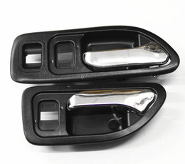 Wholesale New Black Inside Door Handle Fit Honda Accord Front Pair Left Right