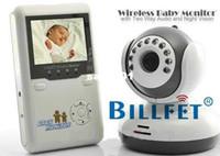 al por mayor al por mayor de las cámaras digitales de lcd-Wholesale-2.4G monitor de bebé digital inalámbrica de vídeo IR Talk una cámara de visión nocturna 2.4quot; Envío LCD Intercom gratuito !!