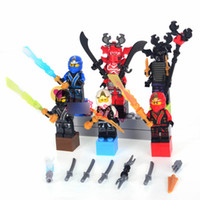 100sets Phantom Ninja Finale 6th Generation 6 Style Minifigs...