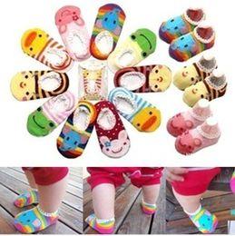 Wholesale Super cute antiskid cotton boat socks baby socks summer air conditioning hose baby socks