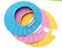 Wholesale HOT new beautiful Shampoo Shower Bath Caps for Baby Children