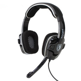 Original Sades SA-922 Noise Cancelling Gaming Headset Game Headphone USB 7.1 Surround Sound for PC PS4 PS3 Xbox360