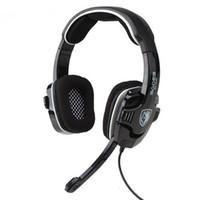 Casque d'écoute d'origine pour jeu professionnel Casque audio Sades SA-922 USB 7.1 pour LOL DOTA CS CF PS4 PS3 Xbox360