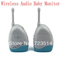 Dry & Rechargeable Color Portable Wholesale-Brand Wireless Portable Audio Baby Monitor F2060B Temperature Bed-wetting Vibration Alarm voice transmission sound free shipping
