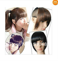 Wholesale Promotion Clip On Hair Bang Fringe Hair Colors Available Multicolor Good Quality B3 ON SALE Gift