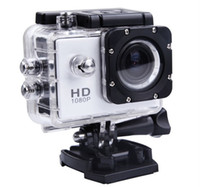 Wholesale Action Camera P Full HD Diving Meter Waterproof Camera Helmet Camera Underwater Sport Cameras Sport DV SJ4000