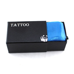Wholesale 100pcs New Safety Medical Plastic Disposale Tattoo Clipcord Cover Bags Quality Tattoo Supply