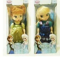 Wholesale Retail cm frozen princesses doll new cute Anna Elsa mini baby doll action figures frozen dolls toys classic toys