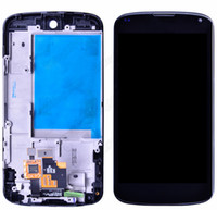 nexus 4 - 1 For LG Google Nexus E960 LCD Screen Display with Digitizer and middle frame Assembly