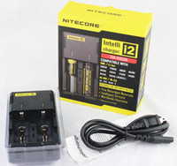 Wholesale Nitecore I2 Universal Charger for Battery E Cigarette in Muliti Function Intellicharger Rechargerable epacket