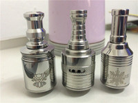 Cheap Patriot Helio Nimbus Atomizer Huge Vapor Clearomizer 2014 Stainless Steel Rebuildable Nimbus V5 Mod Atomizer Ecigarette