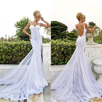 Similiar Low Cut Backless Mermaid Wedding Dresses Keywords