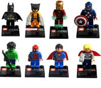 Wholesale The Avengers quot Batman Superman Ironman Hulk Captain America styles retail