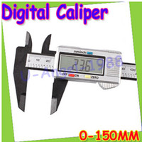 Wholesale LOOK New quot mm Digital Vernier Caliper Micrometer Guage Widescreen Electronic Accurately Measuring Stainless Steel