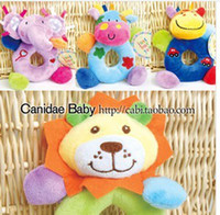 Cloth bell trade - Foreign trade multi functional hand bell hand accidentally a bell Neonatal puppet baby toys