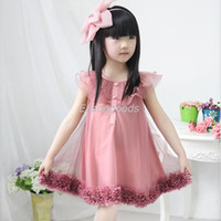 Wholesale 2014 New Summer Teenager Clothing Korean styles big girls children s lantern chiffon skirt pre teen skirt set height cm