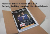 Cheap High Quality Shaun T's Rockin' Body 10 DVDs Workout T25 Focus Warehouse Exercise It Is About Time Muscle Training Body Building Fi
