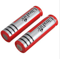 Wholesale Send free UPS_500PCS manufacturers supply special new Flashlight SureFire lithium battery mA ultrafire
