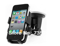 Wholesale Mobile Phone GPS Car Holder Mount Stand for iPhone for smartphone for HTC for Samsung windshield holder
