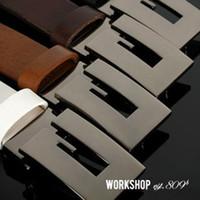 Wholesale New Colors Casual Fashion Imitation Leather Mens Designer Belt G Shape Metal Mens Strap Man Ceinture Buckle Unisex Belts