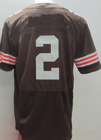 2014 New Football Wholesale men's Elite Jersey #2 MANZIEL Bl...