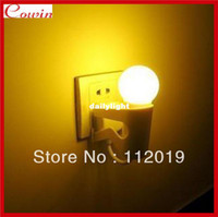 Figure Yes Yes Wholesale-Free shipping Novelty LED Light Control Small man nightlights wall Night Light bedroom bars & hotel lamp room decorate light